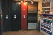 hbm metal roofing and trim show room corner